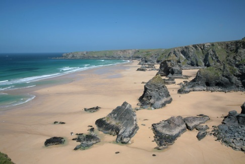 Image result for Bedruthan Steps Beach