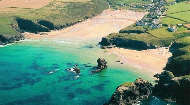 Image result for Porthcothan Bay Beach