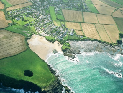 Image result for Trevone Bay beach
