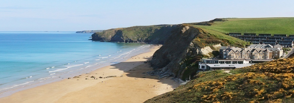 Image result for Watergate Bay Beach