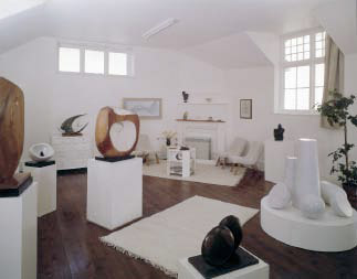 inside the hepworth museum