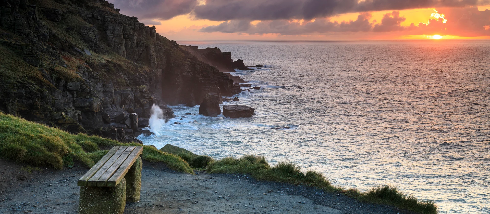 lizard point sunset